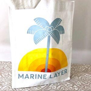 Small Marine Layer Tote Bag